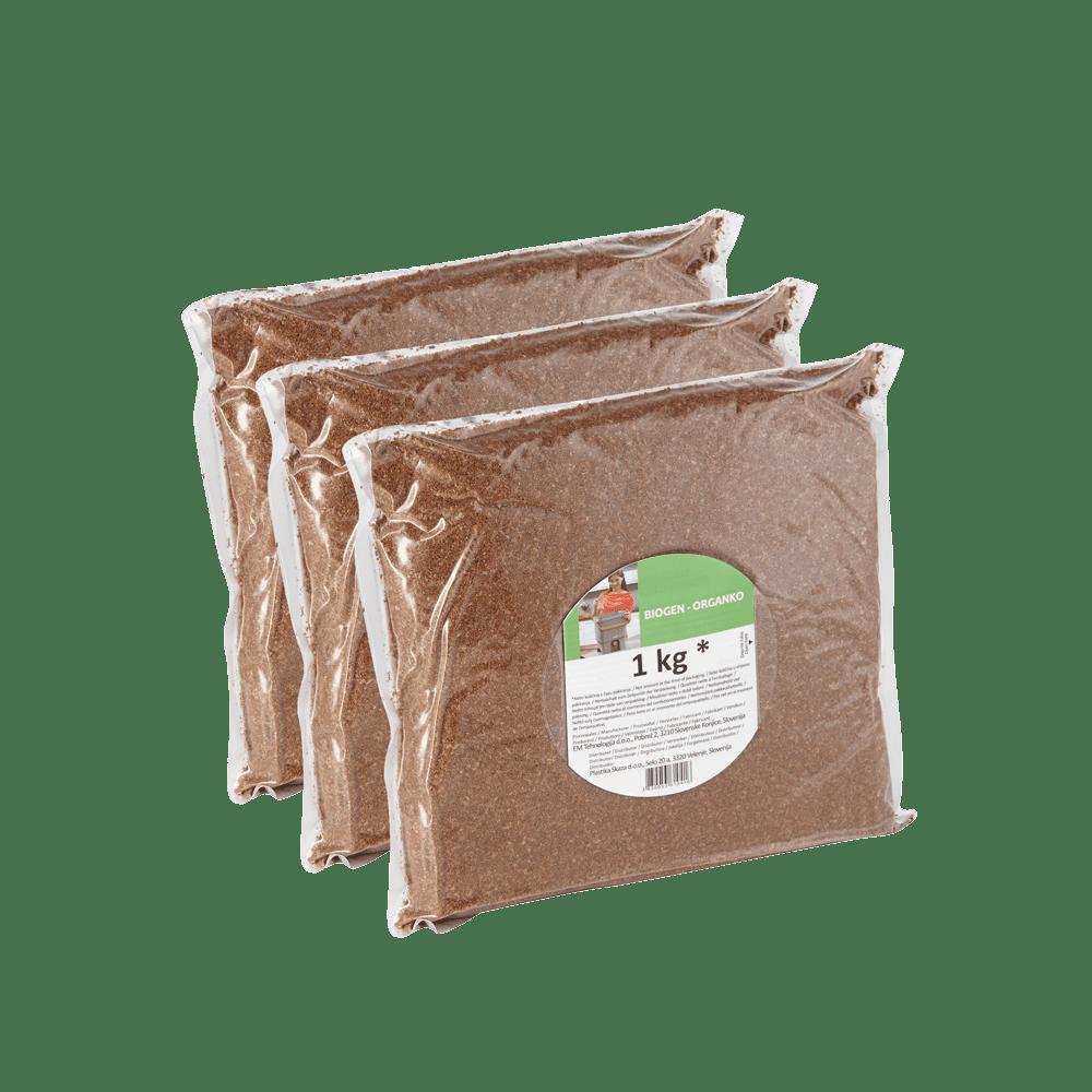 Bokashi Ferment | Kompostaktivator mit Effektive Mikroorganismen (EM), 3kg