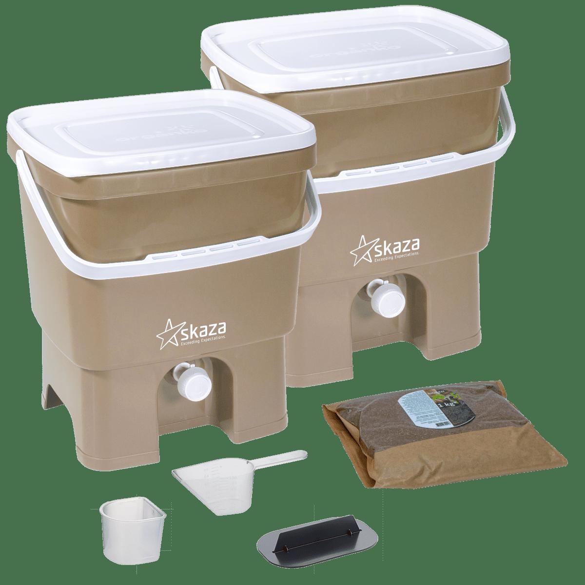 Bokashi Composter Set (2 x 16 Liter)